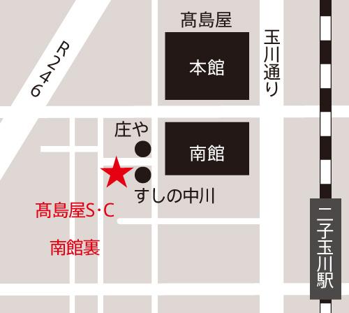 セルライト除去専門店  YP.スタジオ | アクセスマップ